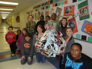 Morgan County Middle School 6th Grade Art Students