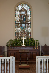 Altar of the George Whitefield Memorial Chapel